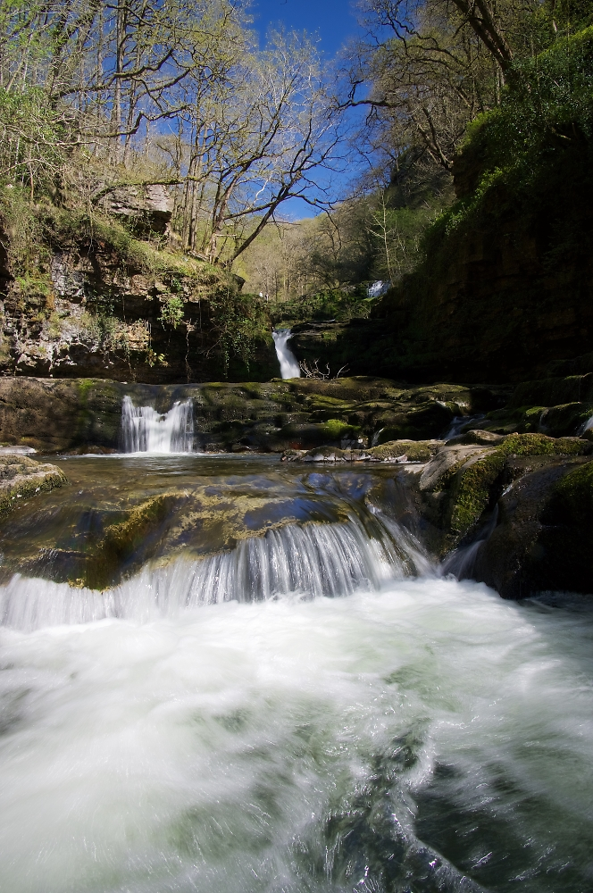 Waterfalls on the Afon Mellte
