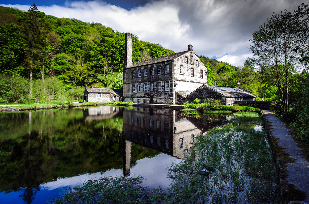 The other side of Gibson Mill