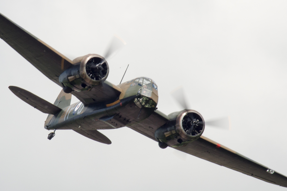 Throckmorton Airshow - Bristol Blenheim