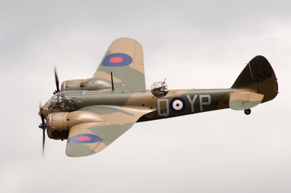 Throckmorton Airshow - Bristol Blenheim