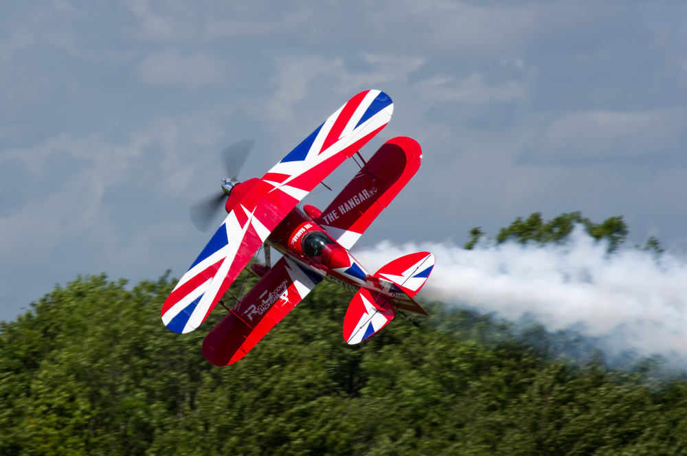Throckmorton Airshow - Pitts Special