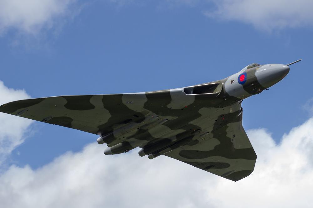 Throckmorton Airshow - Vulcan