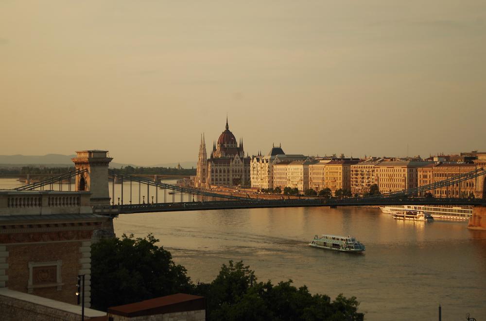 Budapest Sunset 12 July 2015