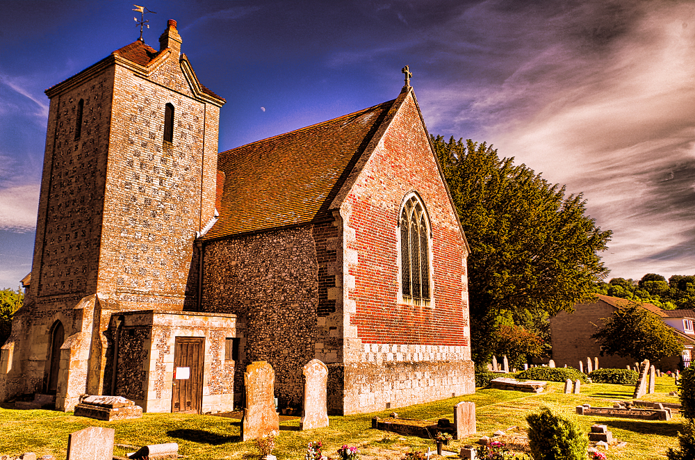 Harnham church