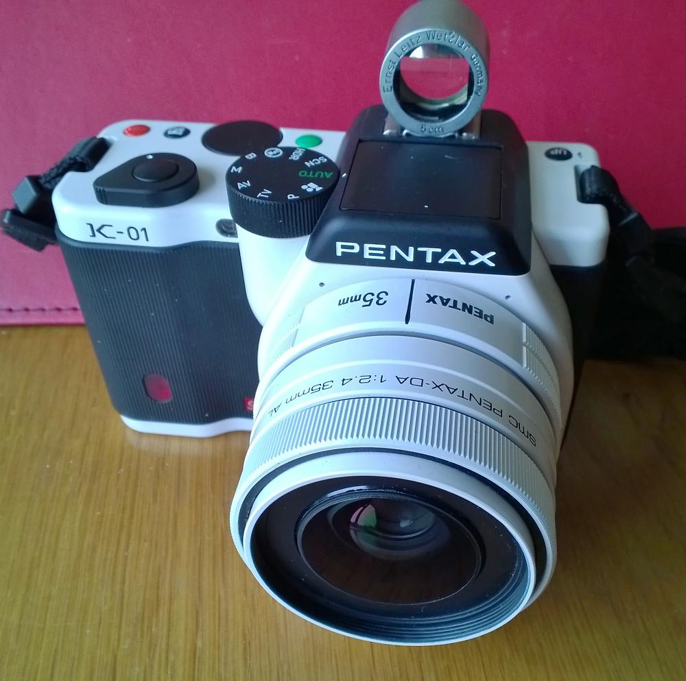Pentax K-01 White