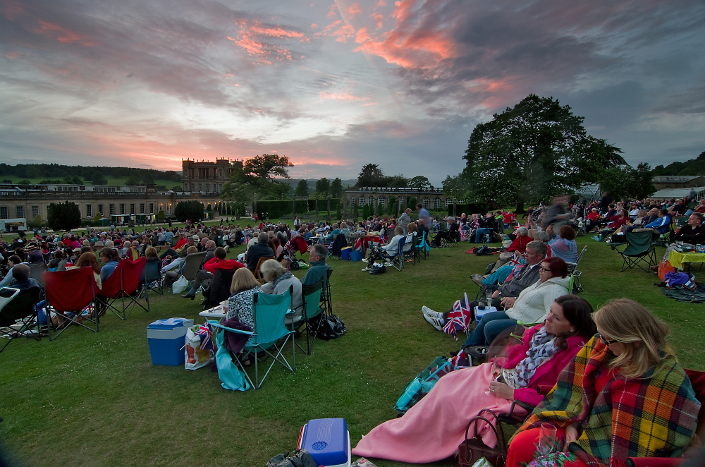 Sunset at Chatworth Proms