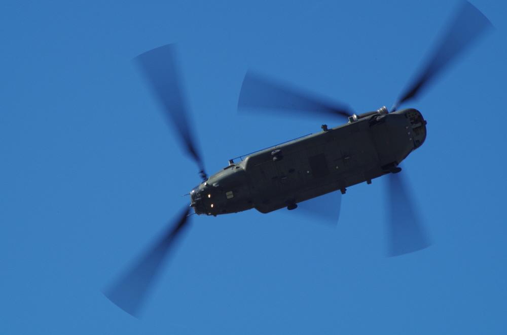 Chinook Rotor Blur