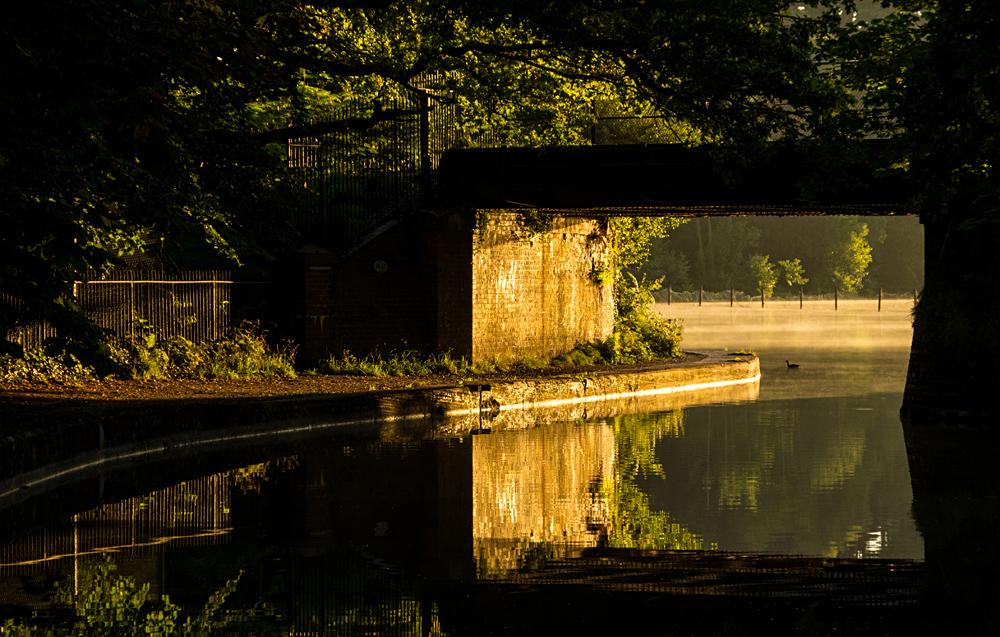 Dawn at Mychette Lake 2015