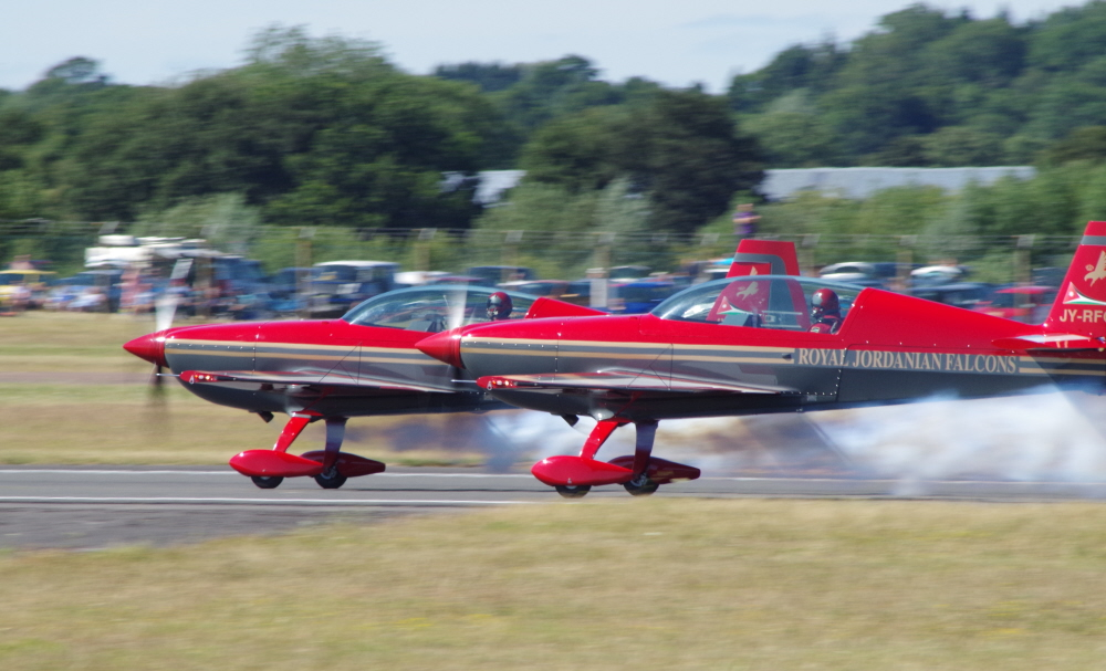 Royal Jordanian Extra EA300Ls on take Off