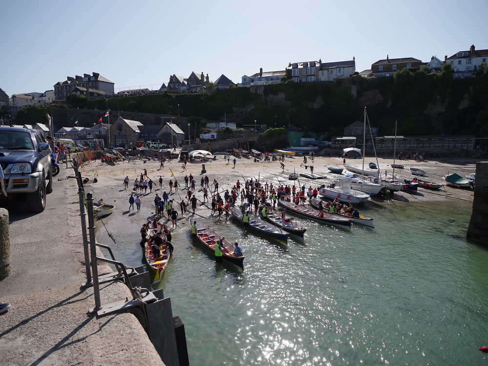 Newquay Harbour Ladies Gig Championships