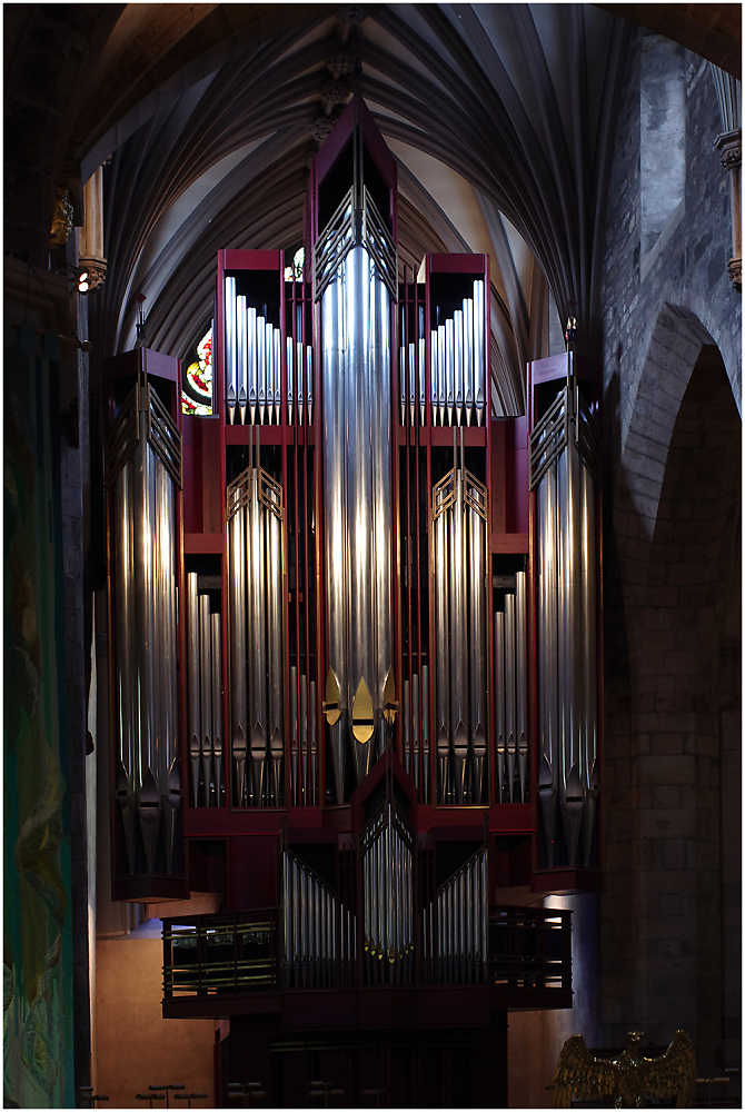 Organ Pipes, St Giles' Cathedral