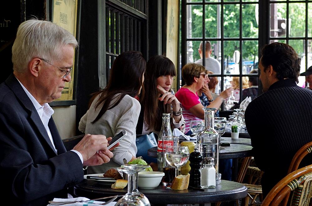 Paris - lunchtime