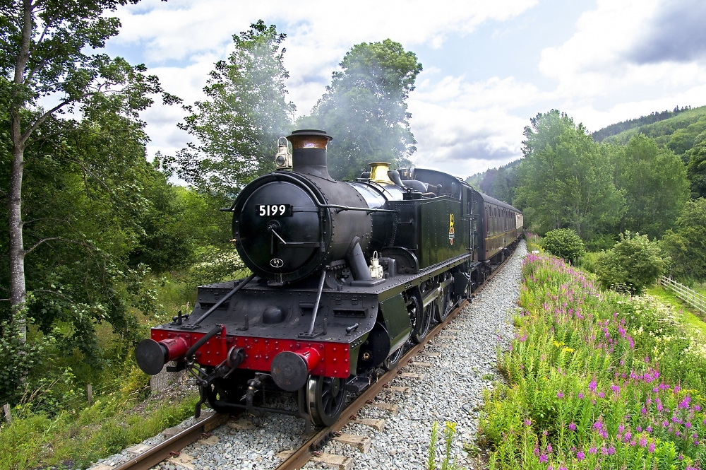 Steam on a summer's day
