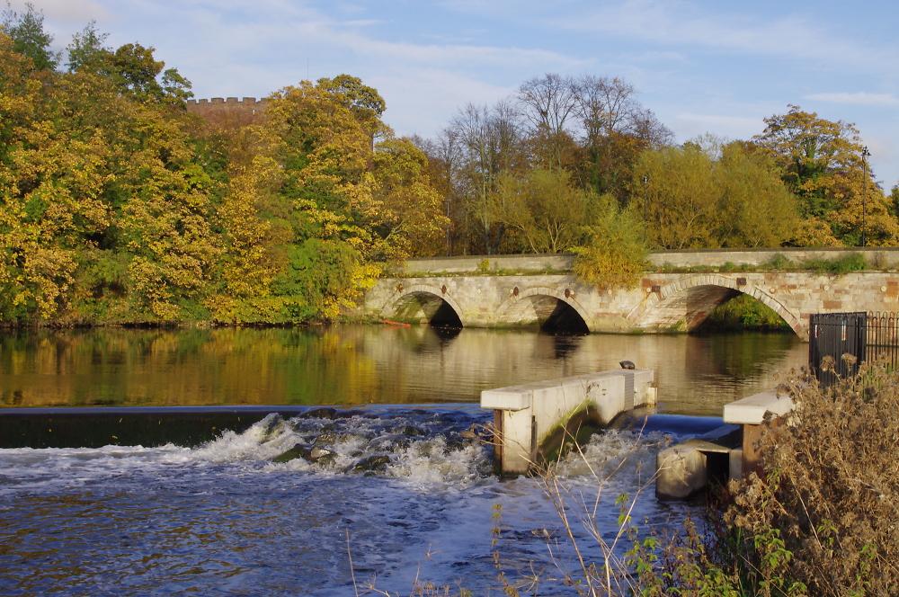 Tamworth, lady bridge, in Staffordshire