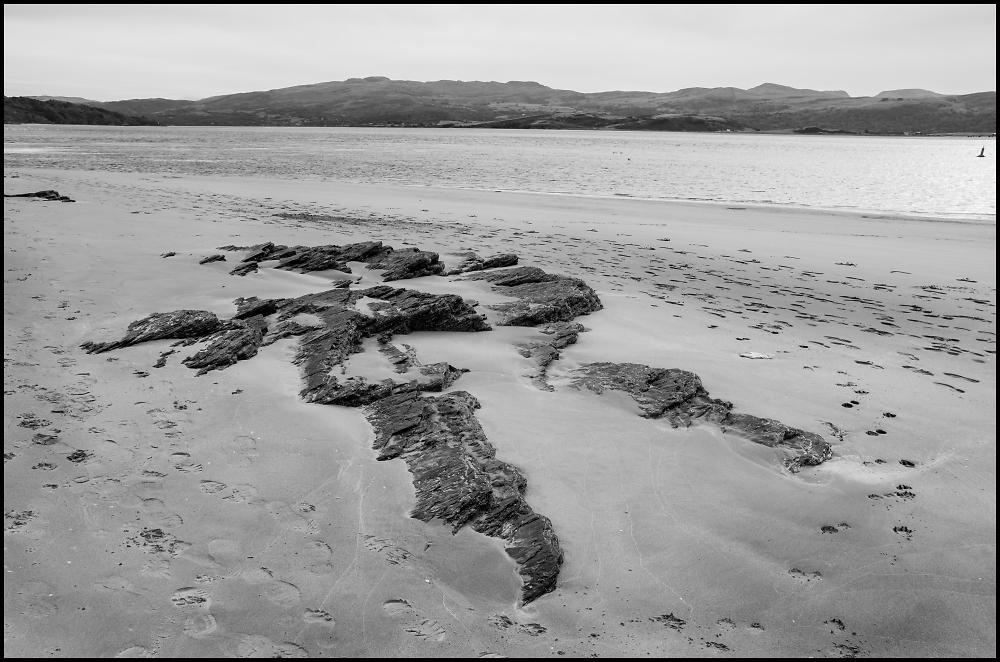 The Beach at Morfa Bychan