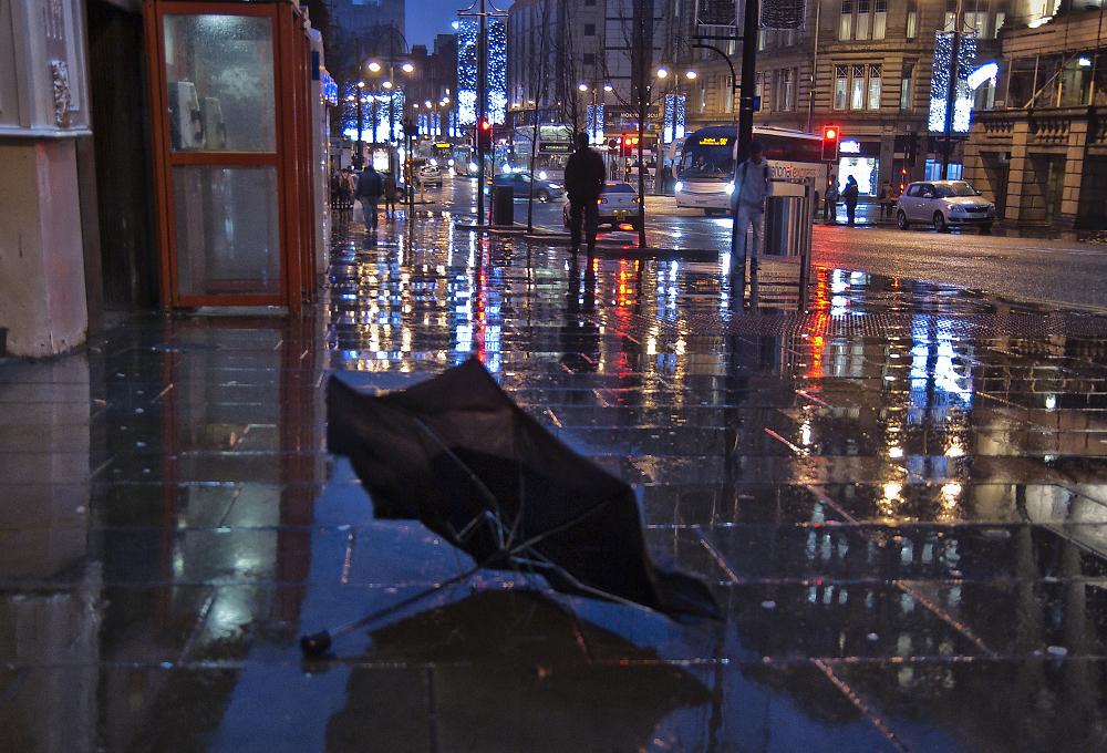 Abandoned Umbrella