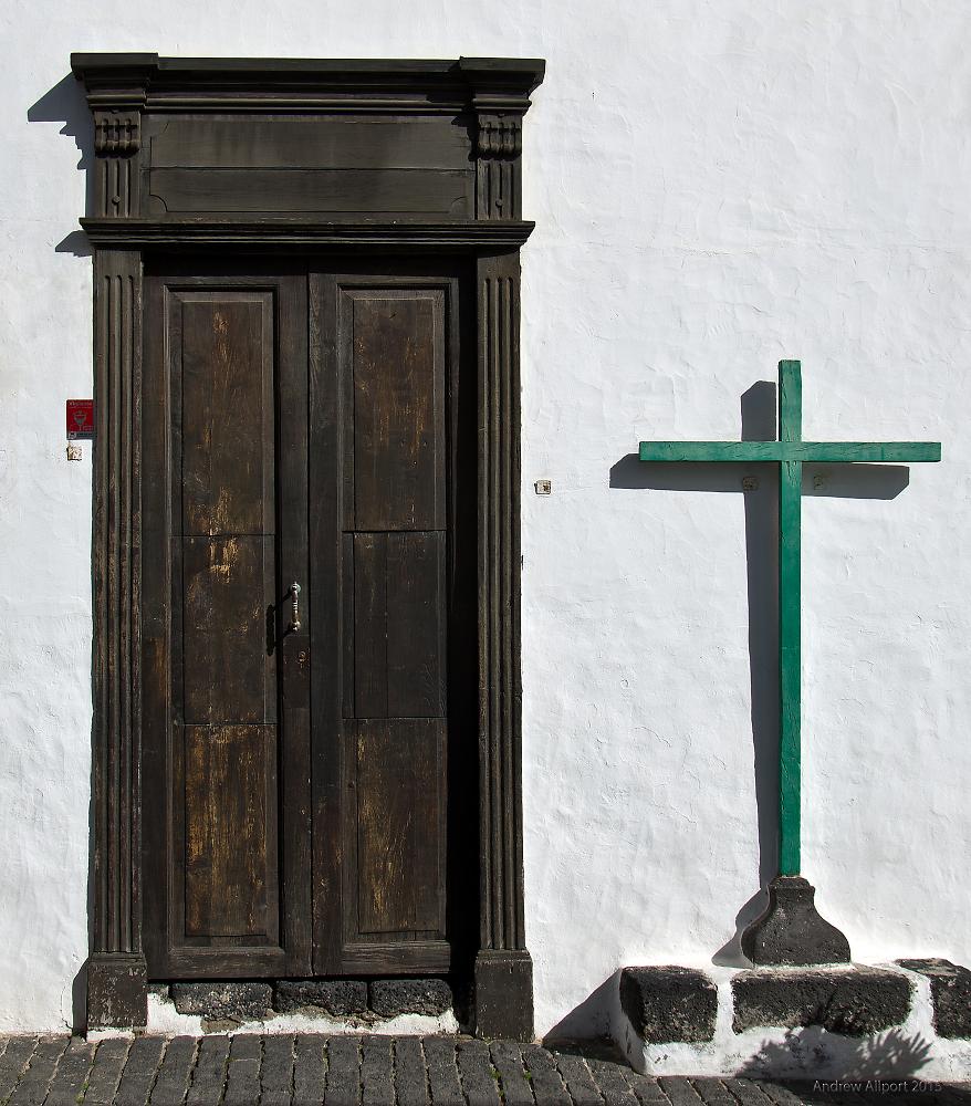 Door and Cross