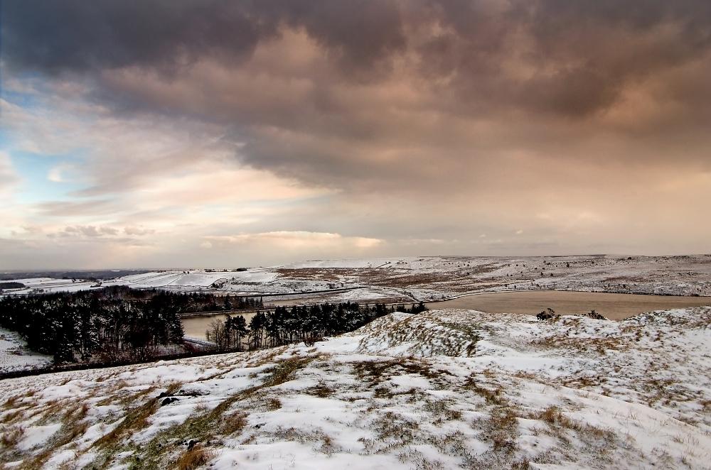 Redmires in Winter