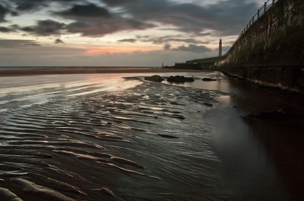Low tide at Roker.