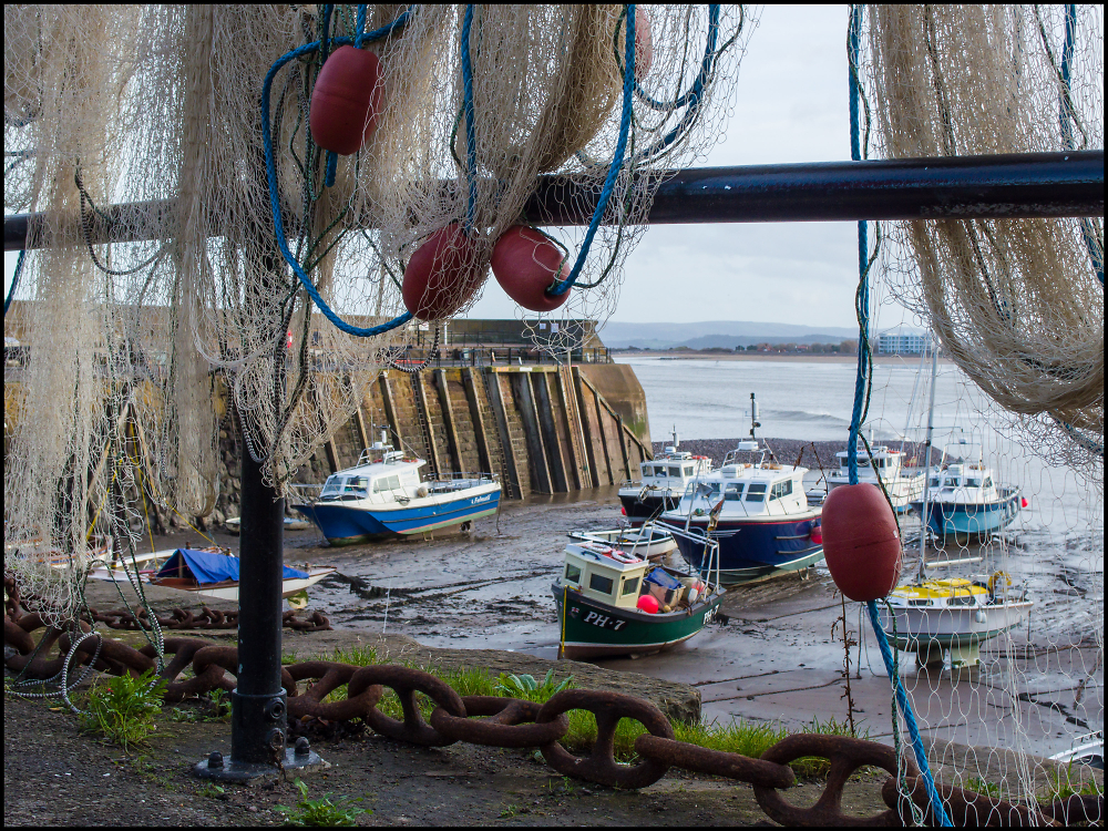 The Harbour at Minehead