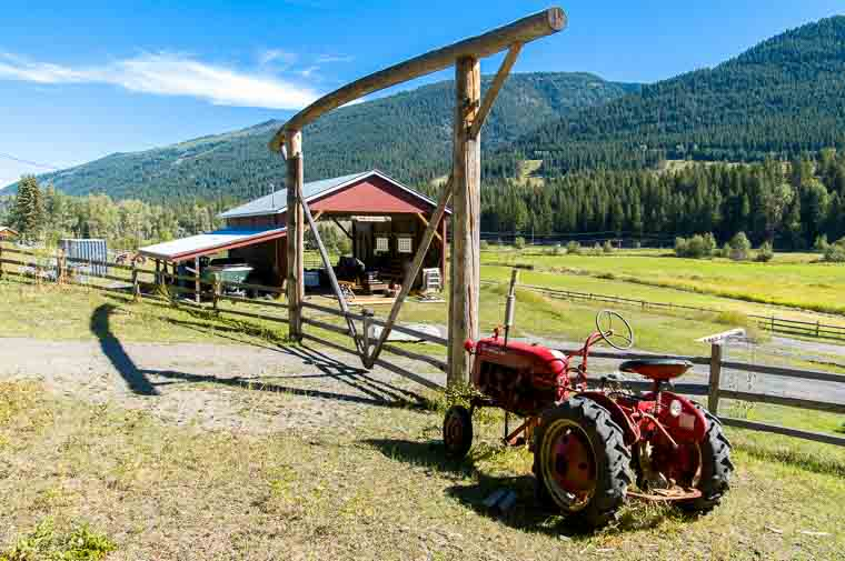 the ranch and tractor