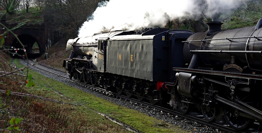 """""""Flying Scotsman"""" and """"The Lancashire Fusilier"""""""