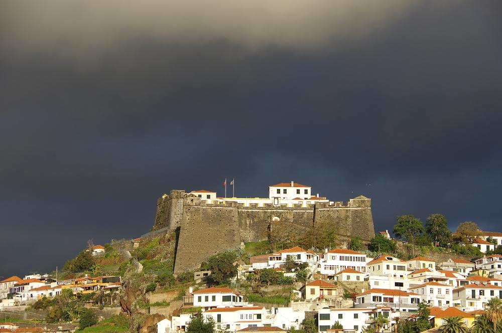 Moody sky over Funchal