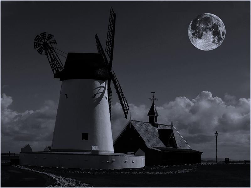 Super Moon over Lytham
