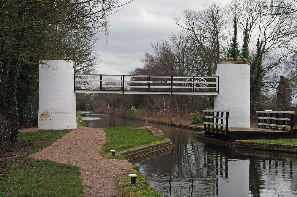 Birmingham fazeley turret foot bridge