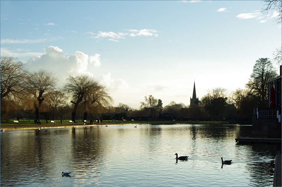 Postcard Stratford on Avon