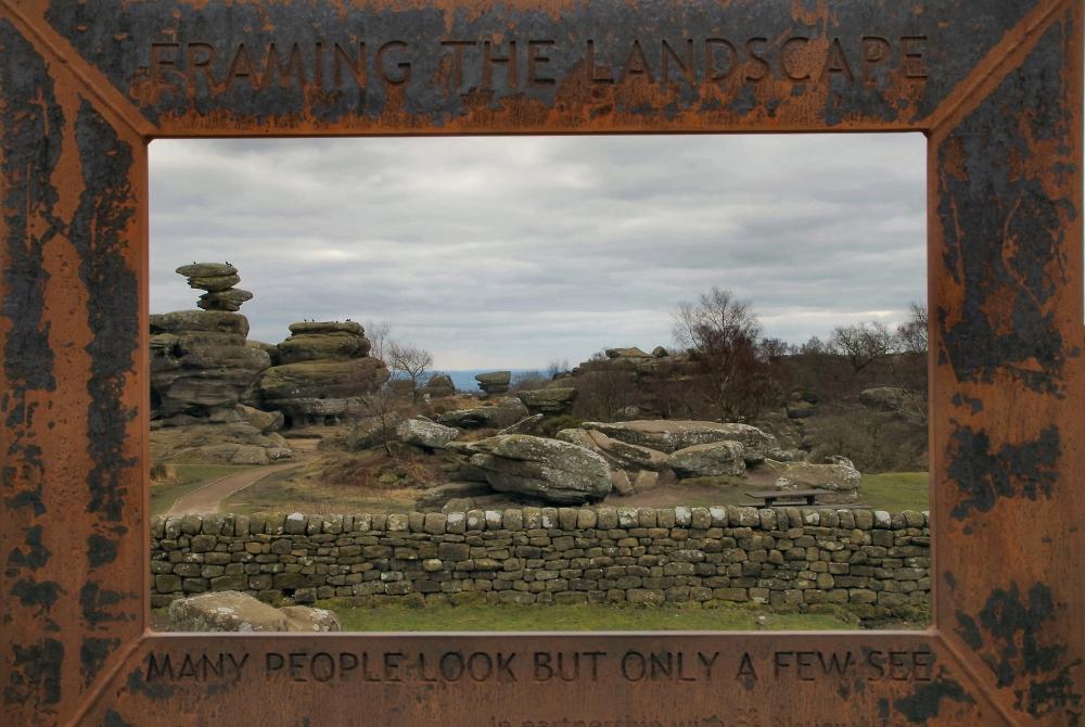 Brimham Rocks Framed
