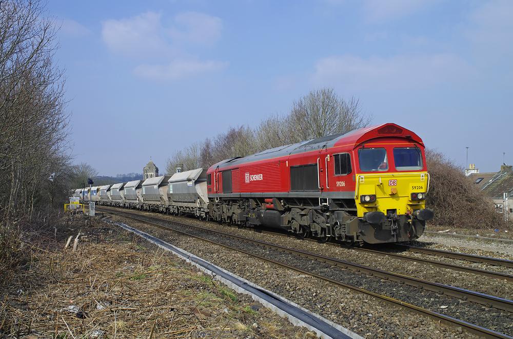 59206 'John F Yeoman - Rail Pioneer'