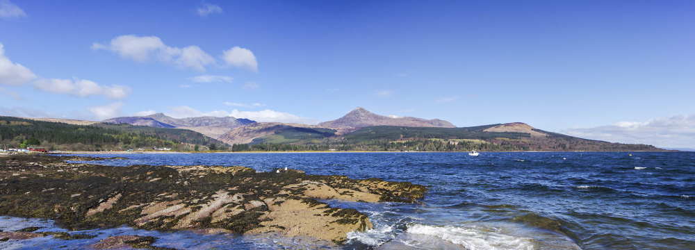 Goat Fell from Brodick, Arran
