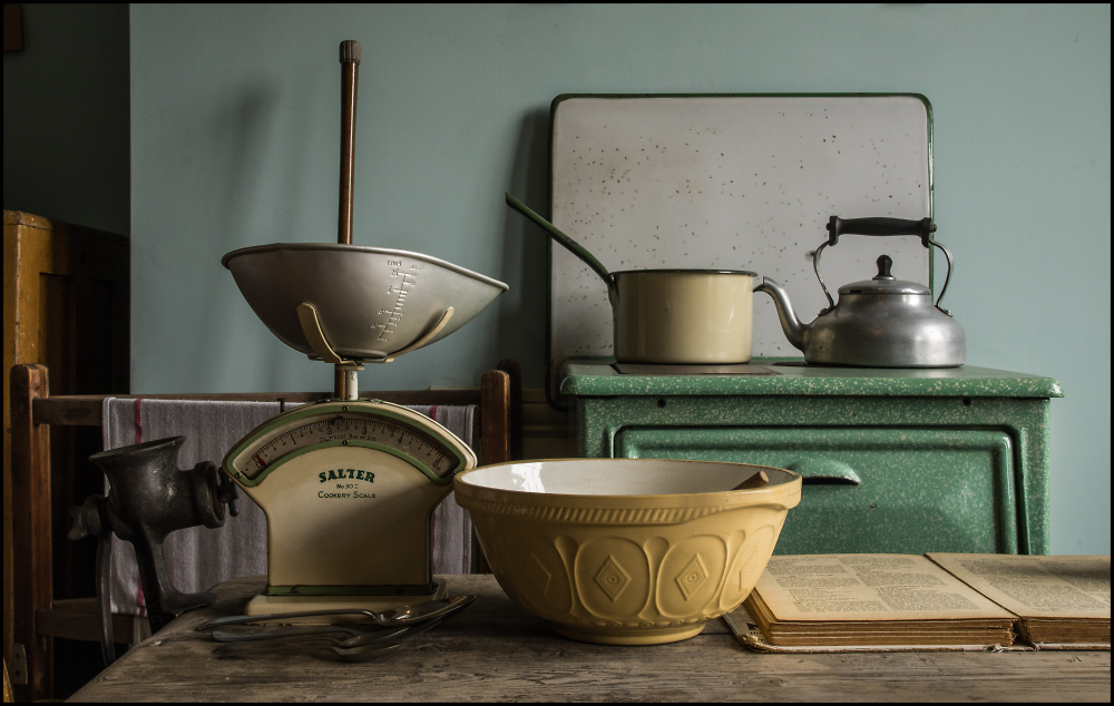 Still Life in an Old Kitchen