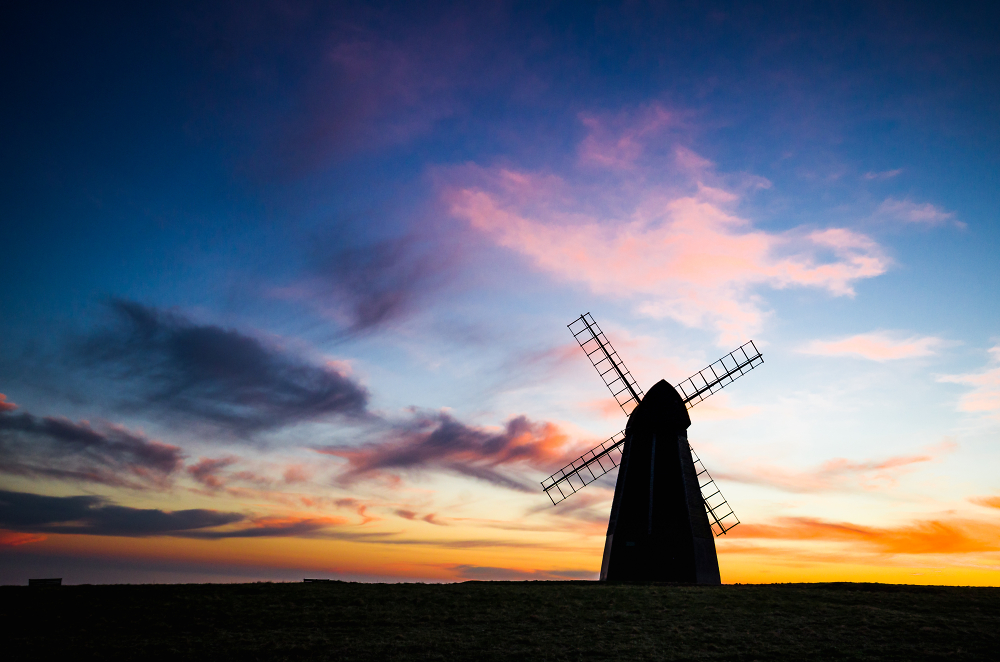 Sunset at Rottingdean