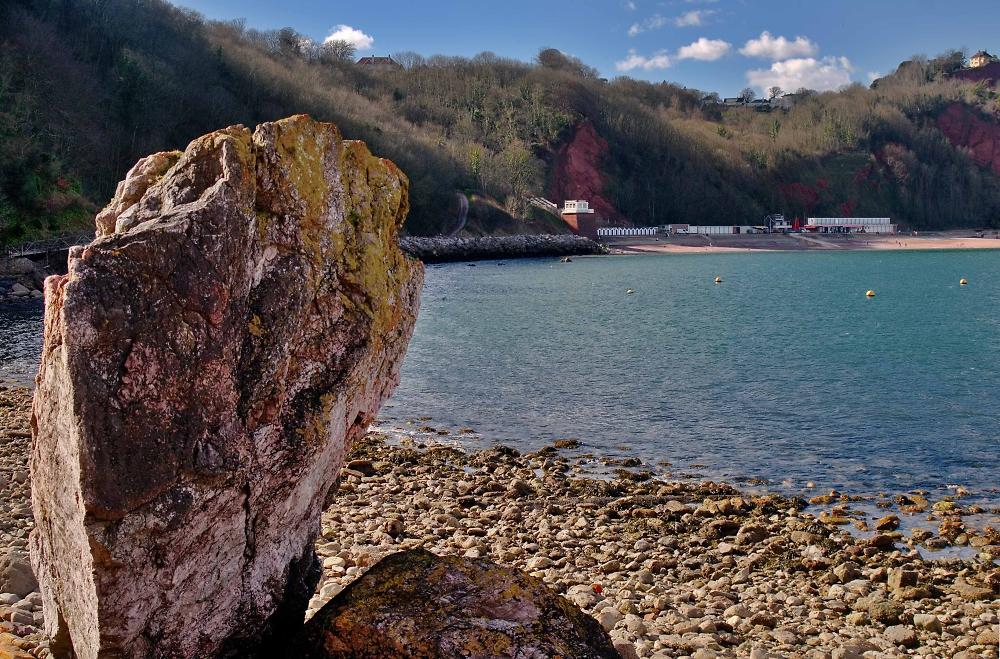 Oddicombe Beach, Torquay, Devon