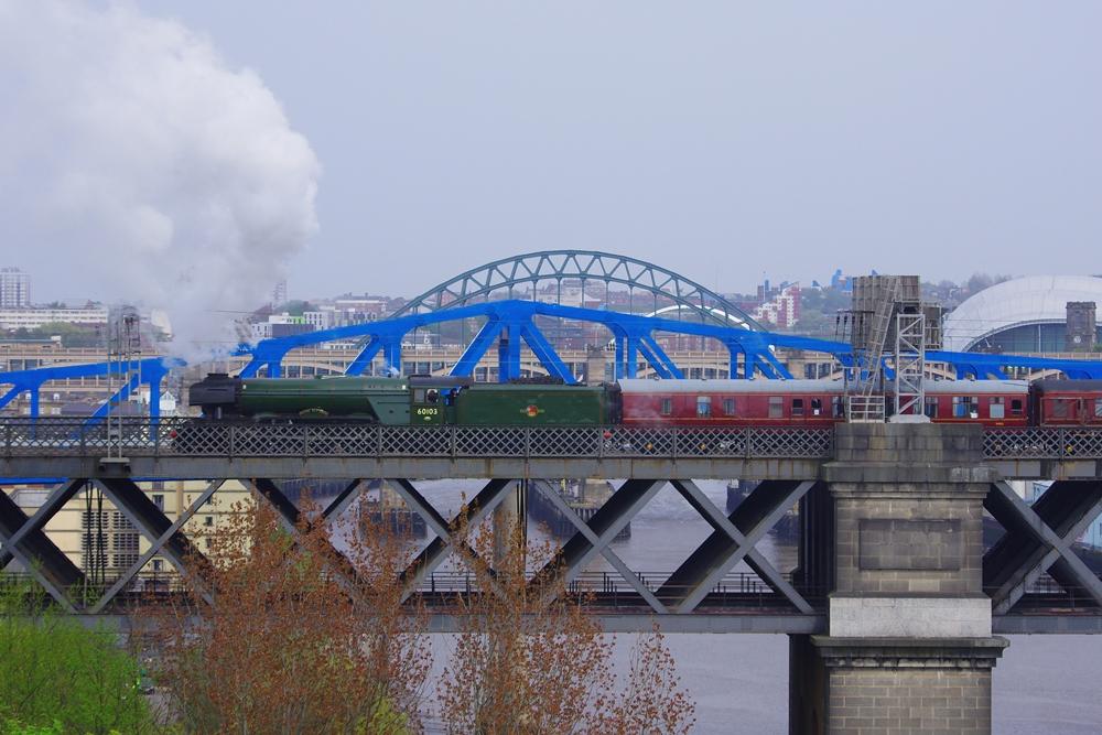 Scotsman over the Tyne