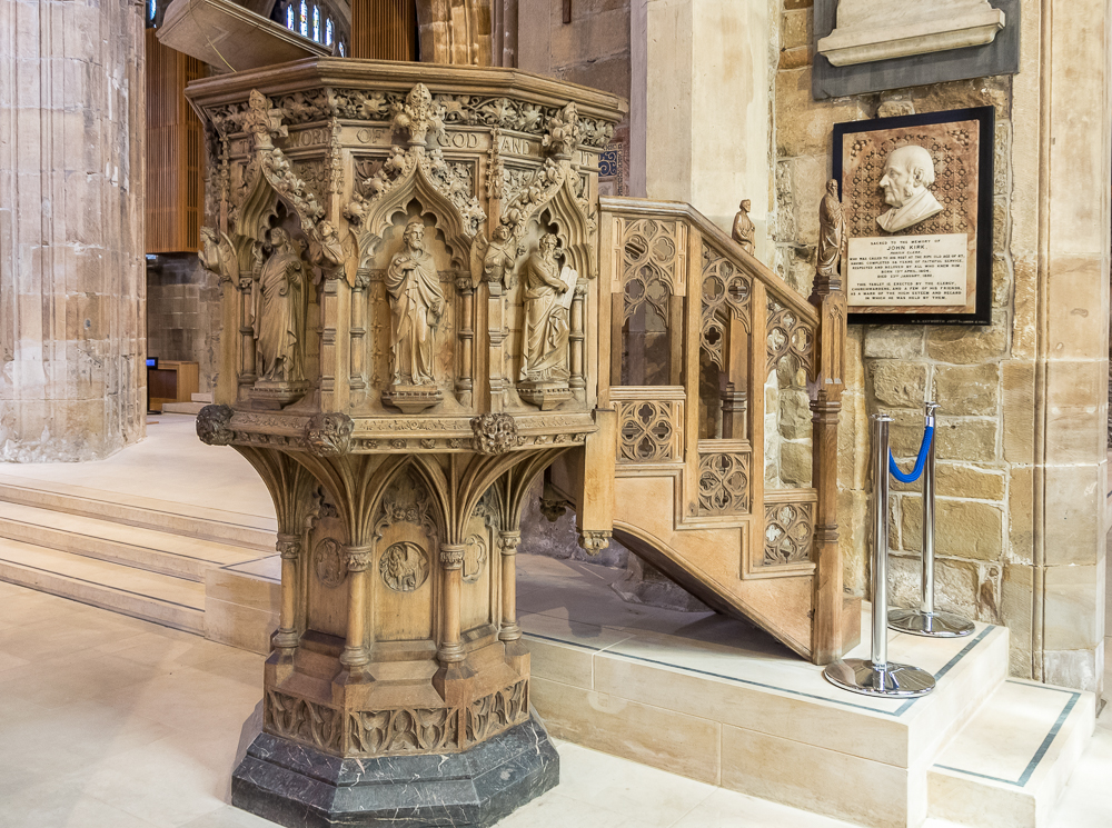 Sheffield Cathedral Pulpit