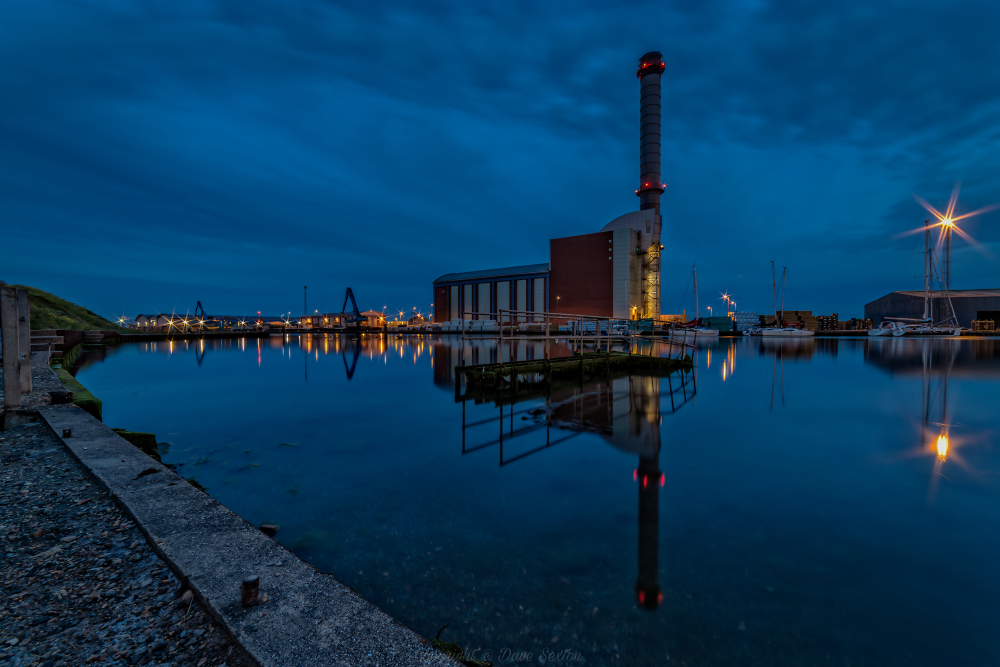 Shoreham Power Station Blue Hour I