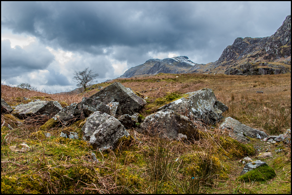 Stormy Skies Over Snowdonia
