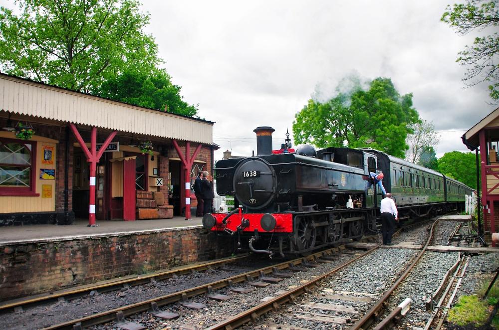 Tenterden Station Arrival.