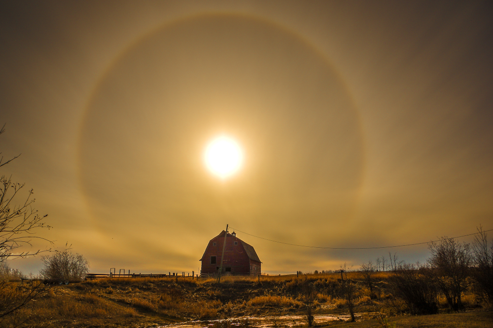 This is a Sun Halo