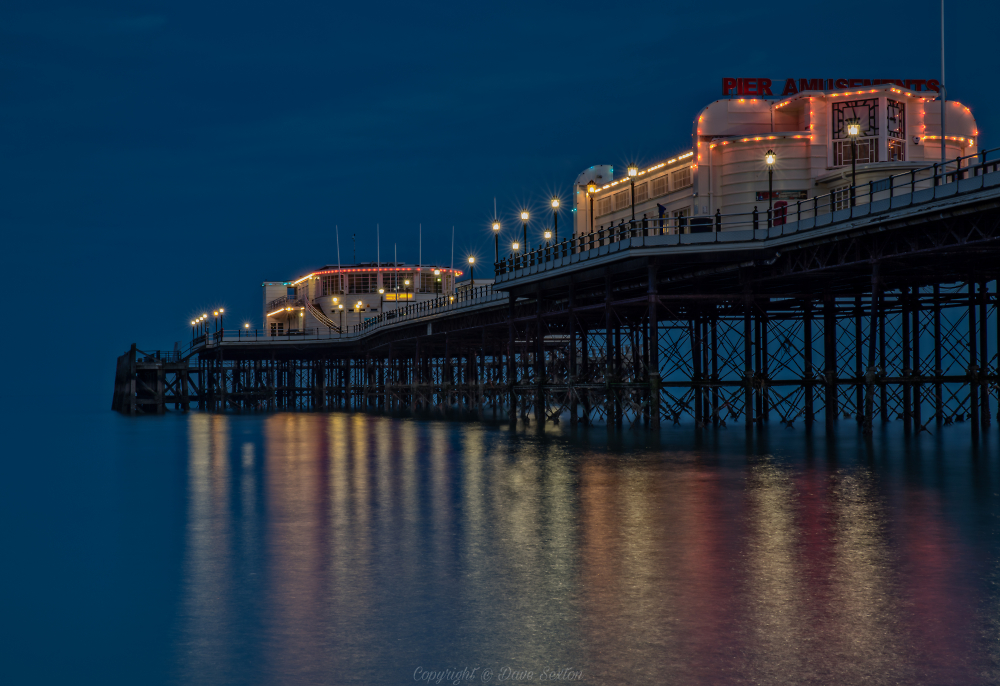 Worthing Pier Blue Hour