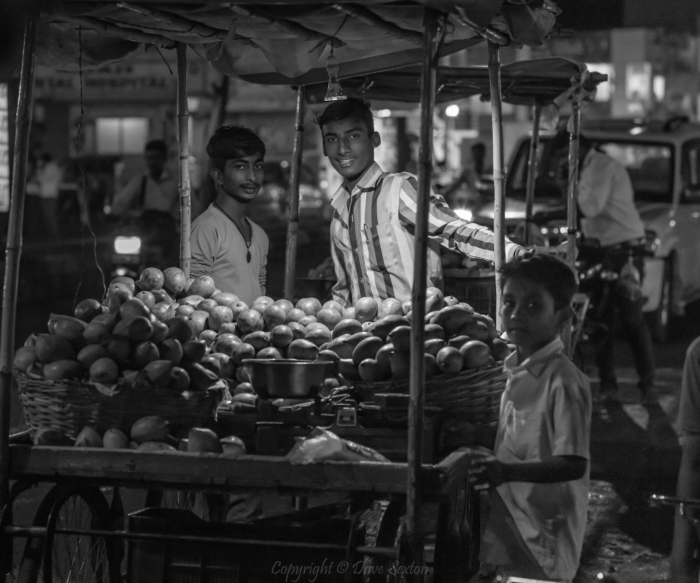 Night Market Bidar India