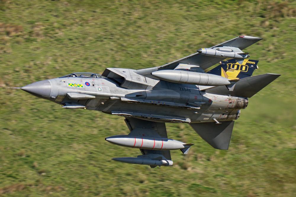 Raf Tornado 31sqn Goldstar
