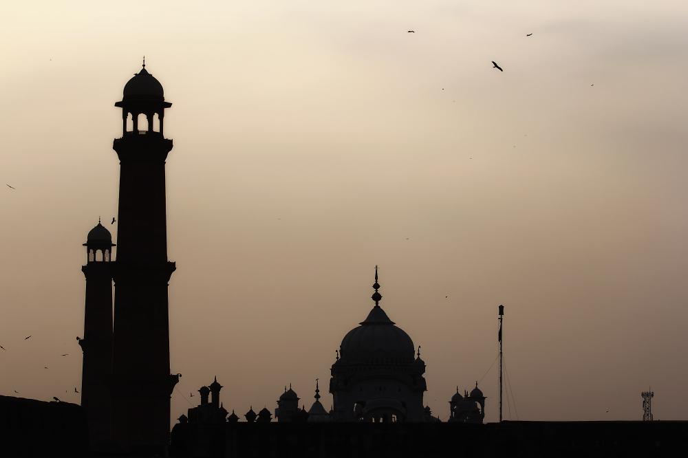 Badshahi Mosque Lahore. Pakistan