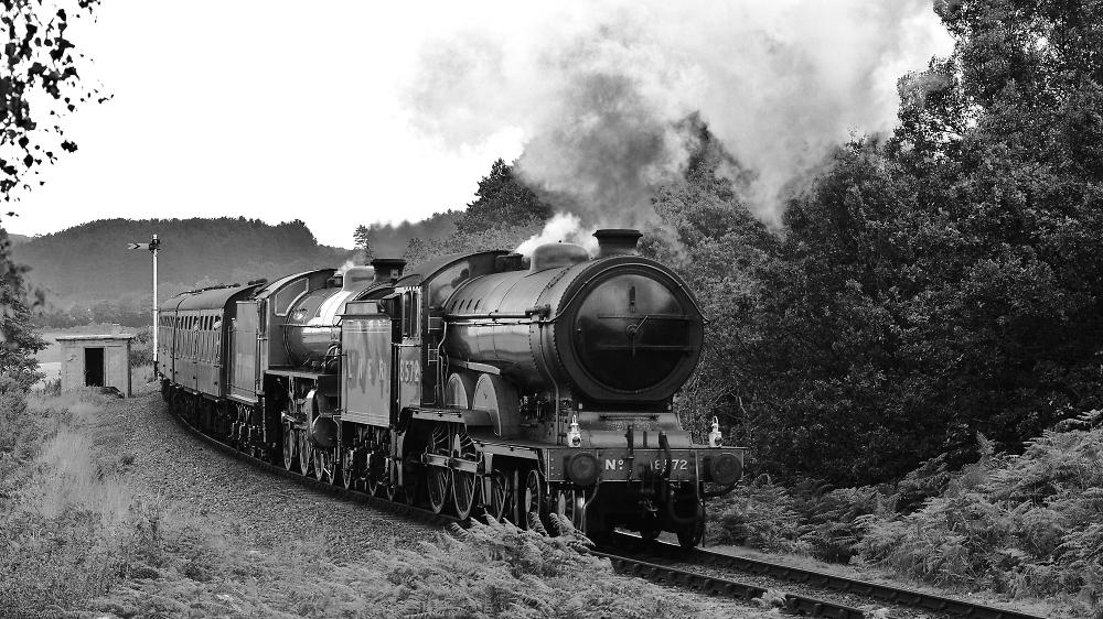 Double header, North norfolk Railway