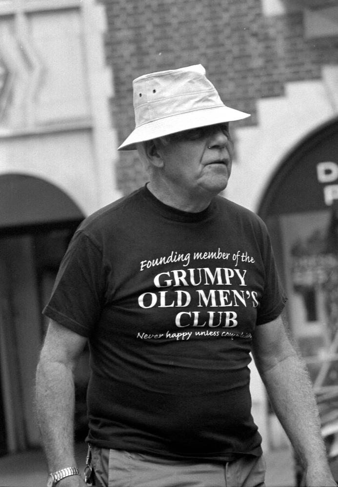 Grumpy Old Man --