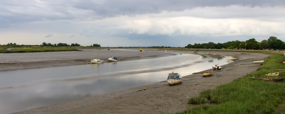 Incoming Tide (River Chelmer at Maldon)