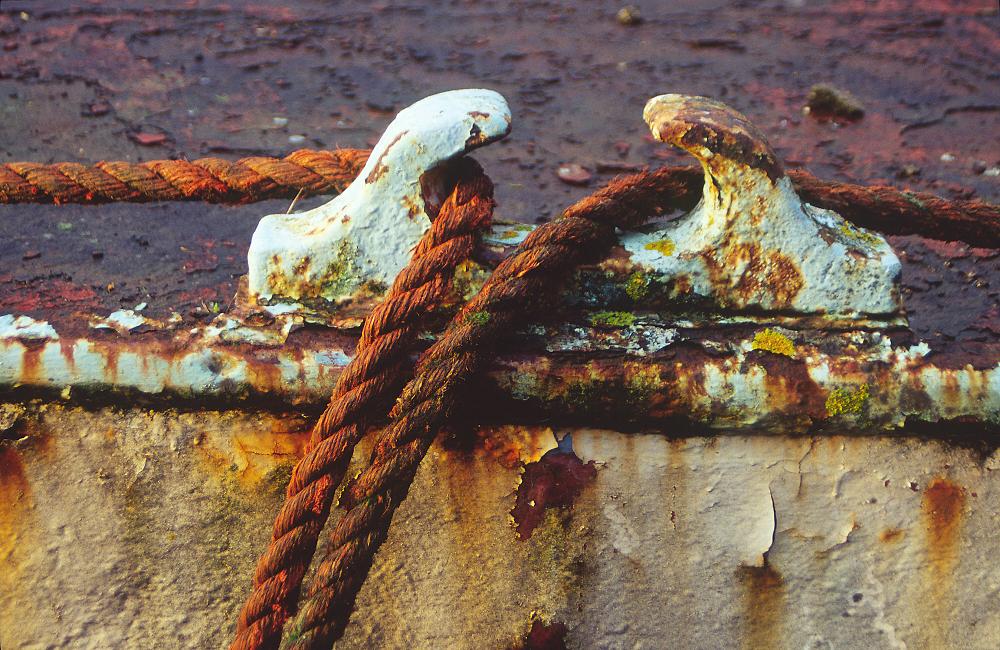 rust & texture!